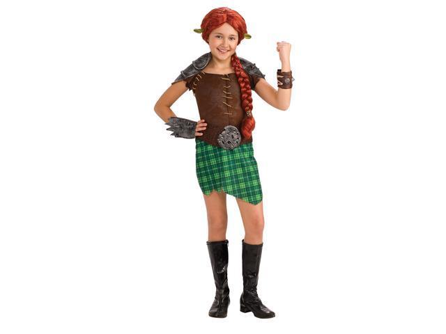 Shrek Forever After - Deluxe Fiona Warrior Toddler/Child Costume - Polyester - Toddler (2-4)