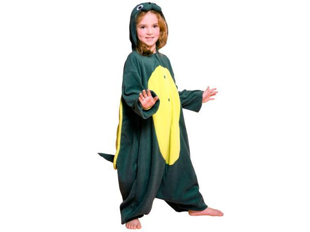 Turtle Child Costume - Green - One-size (2t-6)