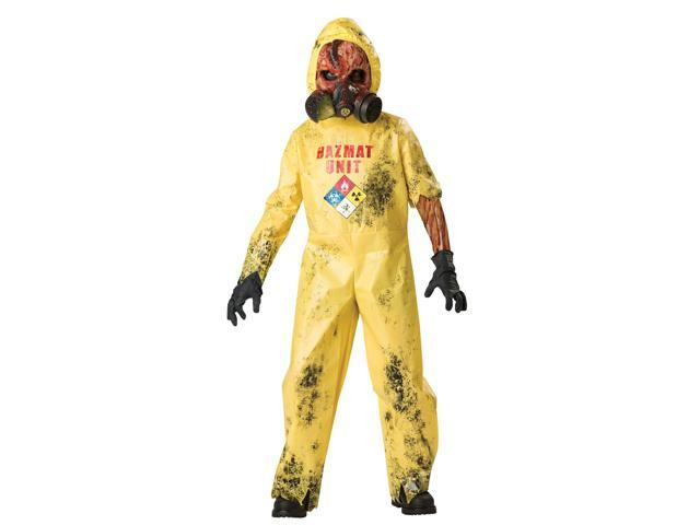 Hazmat Hazard Child Costume - 100% Polyester - Small 6
