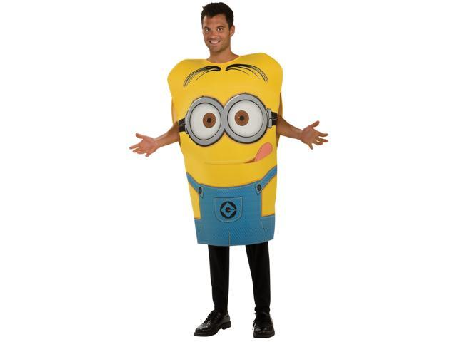 Despicable Me 2 Dave Minion Adult Foam Costume - Blue/yellow - Standard (one Size)