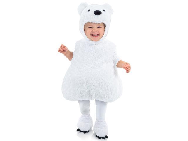 Polar Bear Toddler/ Child Costume - Large