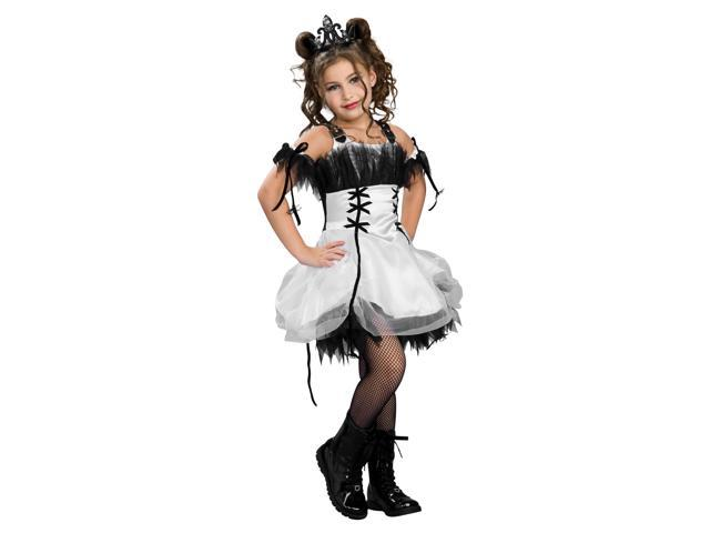 Gothic Ballerina Child Costume - Polyester - Small (4-6)