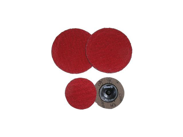 "2""60 Red Grit Ceramic Mini Grinding Discs/25 Pack"