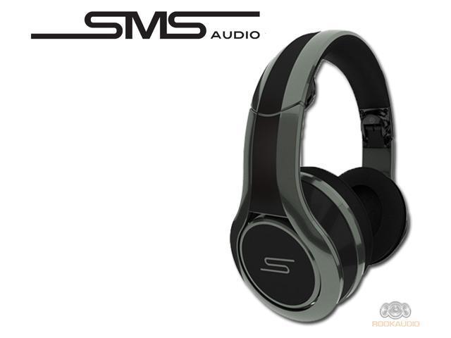 SMS Audio SMS-DJ-GRY STREET by 50 Wired DJ Headphones - Grey