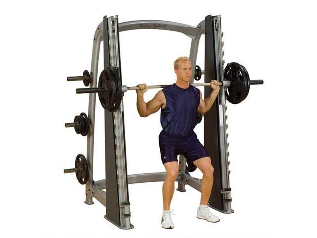 Body Solid - Pro Clubline Counter-Balanced Smith Machine