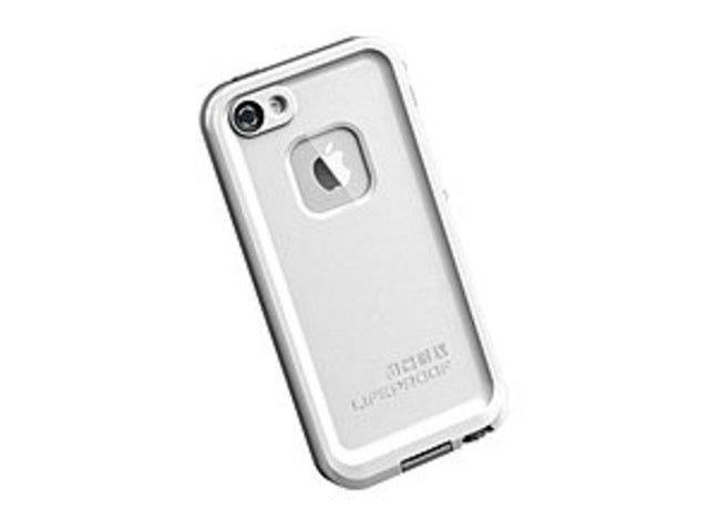 LifeProof Fre Series 04-6133R Smartphone Case for iPhone 5 - Waterproof - White, Gray