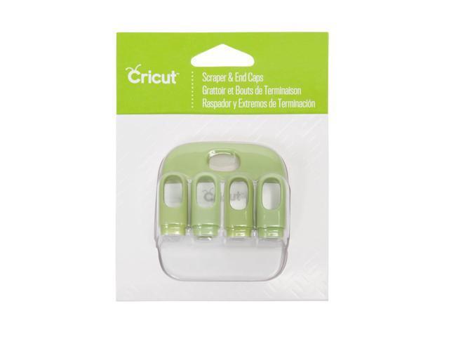 Cricut Scraper & End Caps-Green