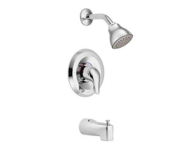 chateau posi temp tub and shower faucet moen inc tub and