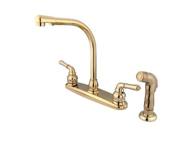 8 High Arch Kitchen Faucet With Sprayer