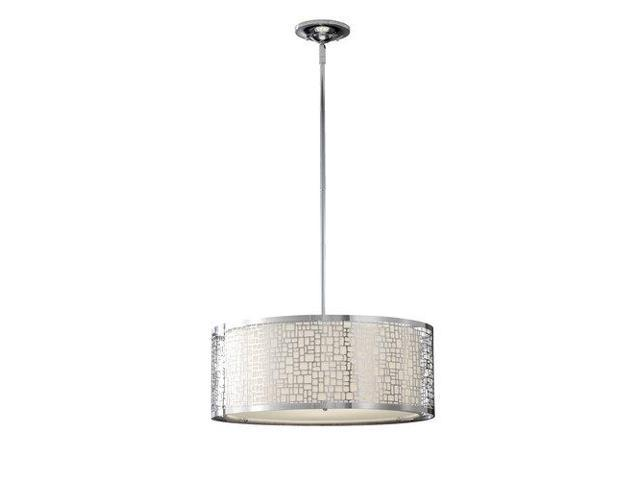 Murray Feiss Joplin 3-Light Large Pendant in Chrome - F2638-3CH