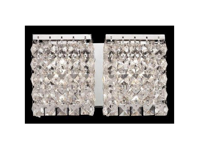 Z lite 184 2v bathroom fixtures indoor lighting chrome for Z gallerie bathroom lights