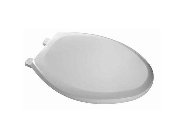 American Standard 5284.016.020 Everclean Surface Antimicrobial Toilet Seat, White