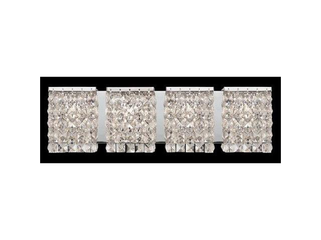 Z lite 184 4v bathroom fixtures indoor lighting chrome for Z gallerie bathroom lights