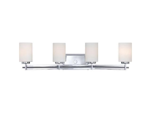 Quoizel Taylor4 Light Bath Fixture, Polished Chrome - TY8604C
