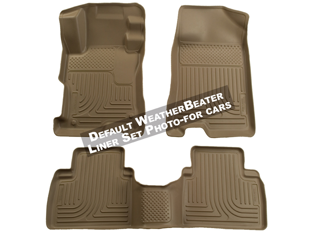 Husky Liners Weatherbeater Series Front & 2Nd Seat Floor Liners 98841 2010-2012  Subaru Legacy