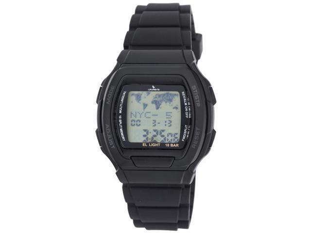 Laurens MMW3J900Y Men's Multi-Functional Rubber Digital Watch