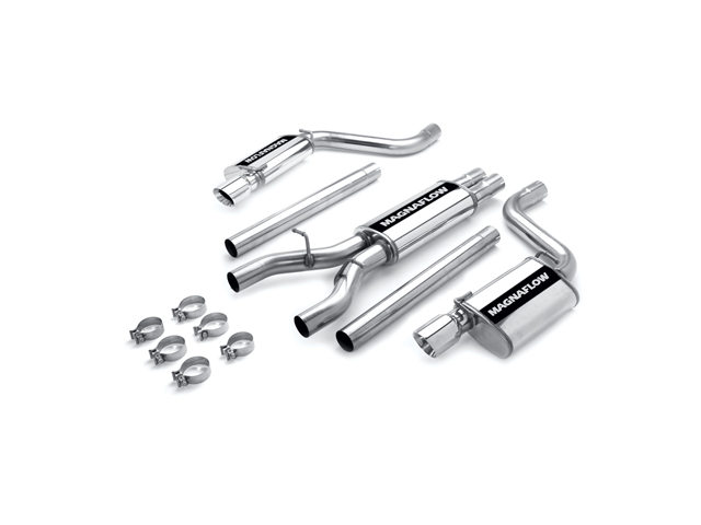 Magnaflow Performance Exhaust Tru-X Dual Cat Back System