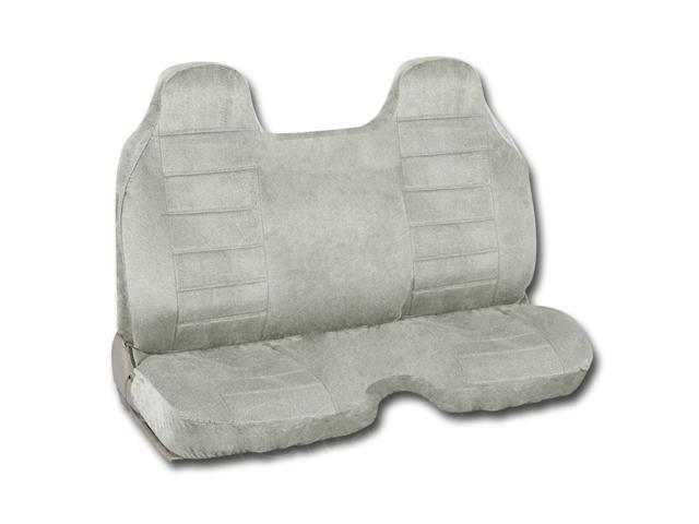 Gray Regal Tweed Bench Seat Cover For Pickup Trucks Semi