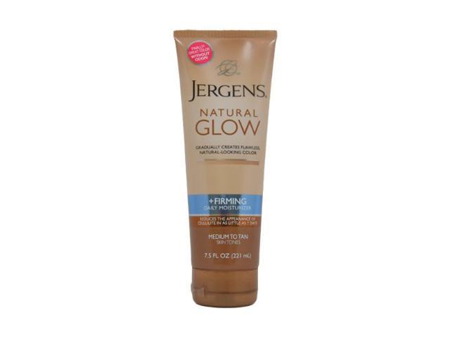 Jergens Natural Glow Firming Medium Tanning Lotion, 7.5 Ounces