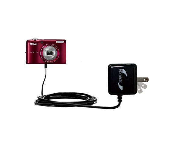 Wall Charger compatible with the Nikon Coolpix S4200 / S4300