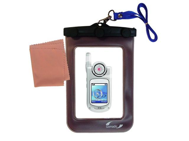 Waterproof Case compatible with the Samsung SGH-P735