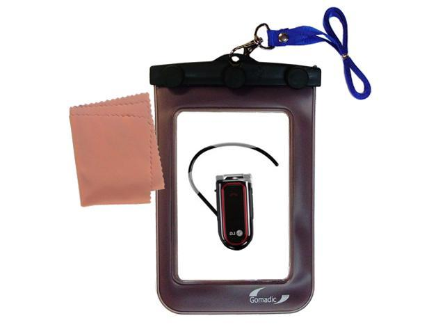 Waterproof Case compatible with the LG Bluetooth Headset HBM-730