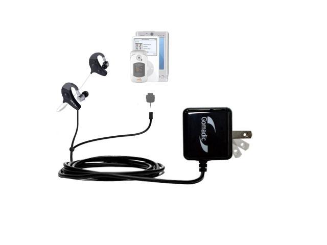 Double Wall Home Charger with tips including compatible with the Denon AH-W150 Exercise Freak