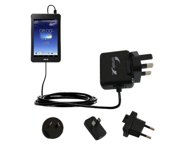 International Wall Charger compatible with the Asus MeMO Pad HD7