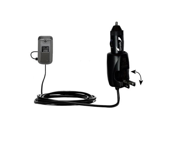 Car & Home 2 in 1 Charger compatible with the LG Envoy II