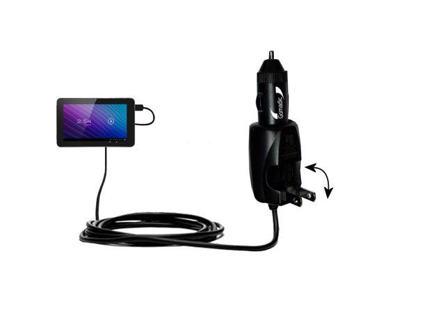 Car & Home 2 in 1 Charger compatible with the SVP TPC 7-inch