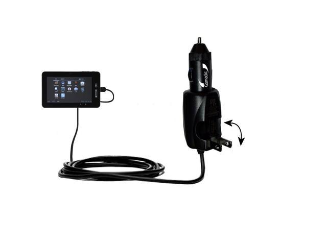 Car & Home 2 in 1 Charger compatible with the AGPtek 7 8 9 10 Inch Tablets