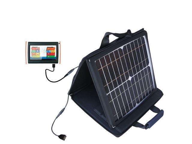 SunVolt Solar Charger compatible with the Orgeon Scientific Meep X2  and one other device - charge from sun at wall outlet-like