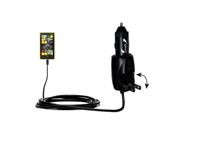 Car & Home 2 in 1 Charger compatible with the Nokia Lumia 635