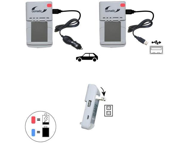 Lithium Battery Fast Charger compatible with the GoPro Hero4 / Hero 4