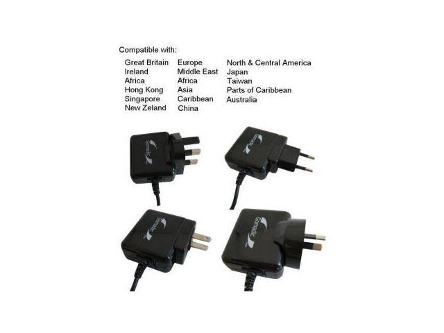 International Wall Charger compatible with the Panasonic HC-V160 / HC-V130