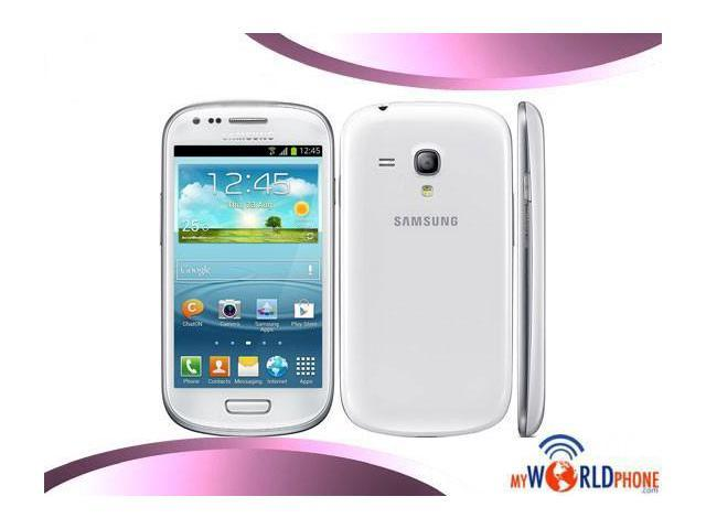 Samsung I8190 Galaxy S III Mini Unlocked Android Smartphone - White