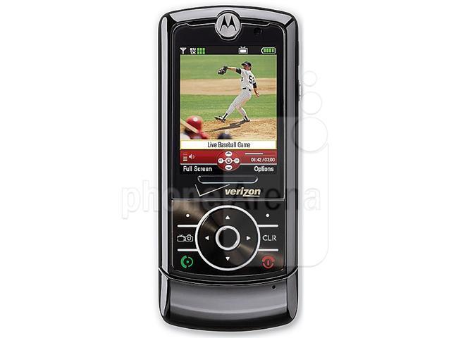 Motorola ROKR Z6 (RIZR) Unlocked Quadband Camera Phone (Black)