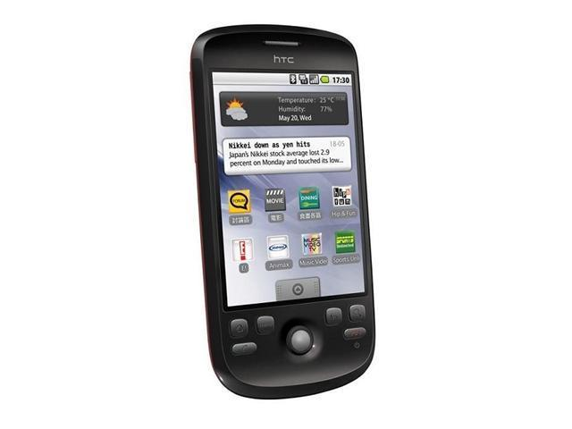 HTC Magic Android 1.6 Touch Screen Wifi GPS Bluetooth Unlocked Quad Band (Black)