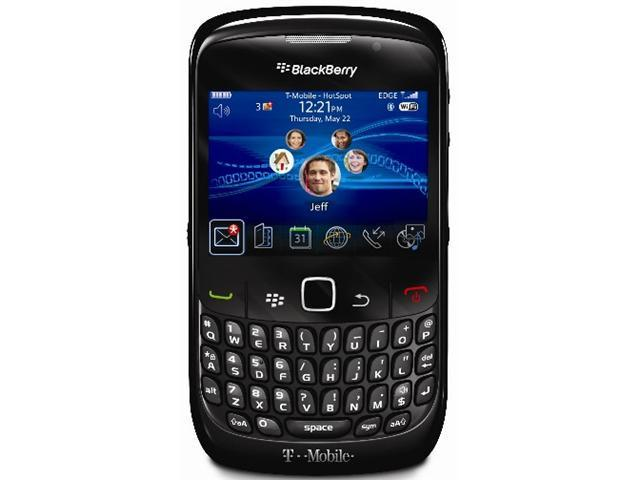 BlackBerry Curve 8520 GEMINI Unlocked Quadband WiFi PDA Phone (Black)