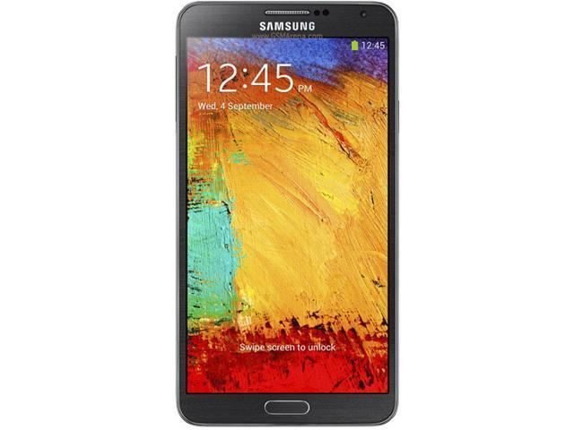 Samsung Galaxy Note 3 N9000 GPS WiFi Factory Unlocked Quad Band Tablet (Black)