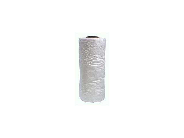 """Plastic White Poly Bags 21"""" x 7"""" x 54"""" - 208/Roll"""