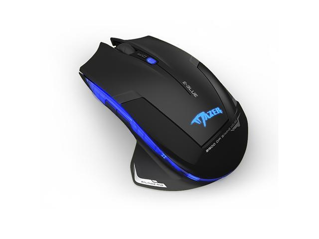 E-3lue E-blue Cobra II Mazer 2500DPI USB 2.4GHz Wireless Optical Gaming Mouse Adjustable DPI