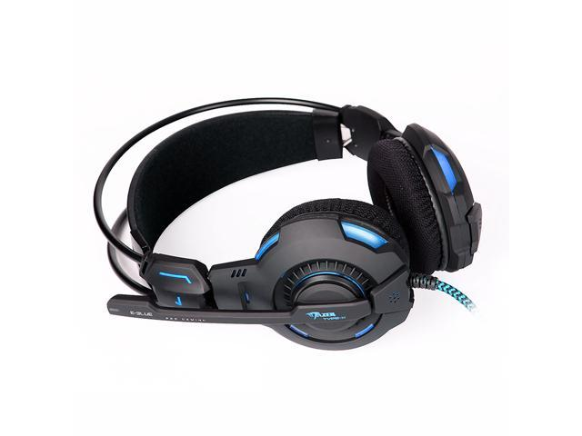E-3lue E-Blue Mazer HS909 Type-X Professional Game Gaming Headset Headphone Earphone with Microphone Mic For skype Gamer
