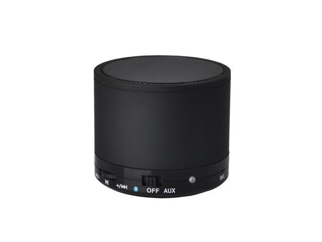 uTronix Mini Portable Bluetooth Wireless Speaker with Rechargeable Battery for iPhone, iPad, Android, Tablet PC, MP3 MP4 and Computers - Black (89912)