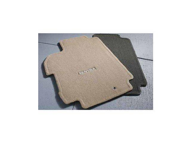 2013 Nissan Sentra Carpeted Floor Mats 4 Piece Marble