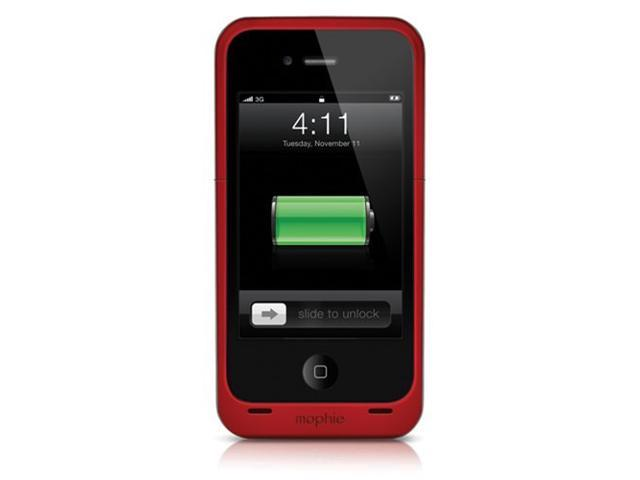 Mophie Juice Pack Plus External Battery Case for iPhone 5 - Red