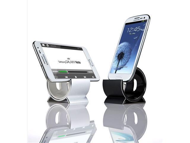 Sinjimoru Aluminum Sync and Charge Dock Stand for Samsung Galaxy S4, S3, S2, Verizon Galaxy Nexus, LG Optimus G, Nokia Lumia ...