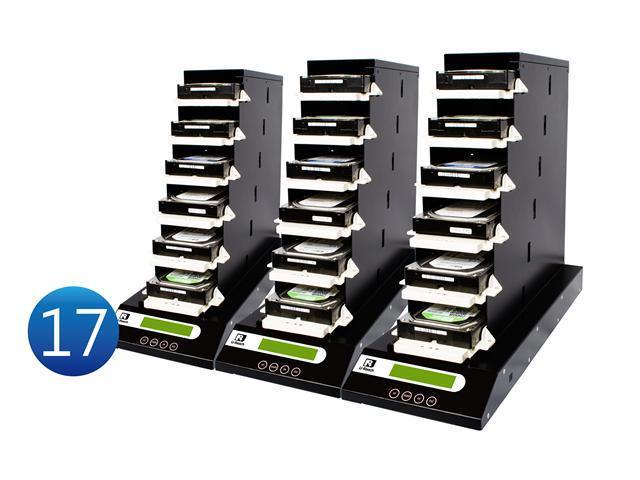 "1-17 UReach CT Series Chain Tower  2.5""&3.5"" HDD/SSD Duplicator - High Speed(9 GB /Mins)"