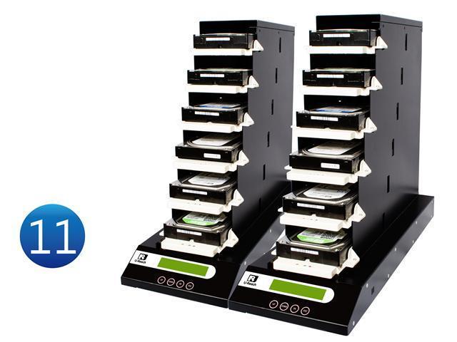 "1-11 UReach CT Series Chain Tower  2.5""& 3.5"" HDD/SSD  duplicator - High Speed(9 GB /Mins)"