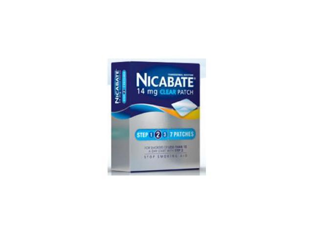 Nicabate Cq Clear 14Mg Patches 1Week